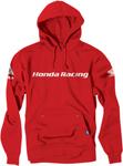 Factory Effex Official Licensed HONDA Racing Pullover Hoodie Sweatshirt (Red)