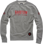 100% MX Motocross BARSTOW BRYMANN Pullover Crewneck Sweatshirt (Heather Grey)