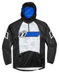 ICON SINGLE STACK Polyester/Fleece Hoody Sweatshirt (Black/Blue)