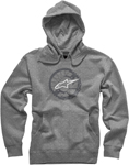 ALPINESTARS 2017 ROTOR Pullover Hoody Sweatshirt (Heather Gray)