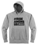 ICON R.A.U. Ride Among Us Pullover Hoody Sweatshirt (Charcoal)