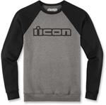 Icon Motosports OG Crew Neck Sweatshirt (Gray)