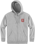 Icon 1000 BASELINE Hoody Sweatshirt (Light Grey)