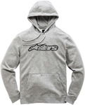 Alpinestars BLAZE Fleece Pullover Hoody Sweatshirt (Gray/Black)