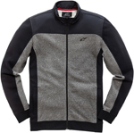 Alpinestars Speed Fleece Zip-Up Sweatshirt (Black)