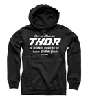 Thor MX Motocross Men's The Goods Pullover Hoody Sweatshirt (Black)