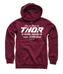 Thor MX Motocross Men's The Goods Pullover Hoody Sweatshirt (Maroon)