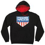 Moose Racing MX Off-Road HONORABLE Pullover Hoodie Sweatshirt (Black)