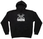 Moose Racing MX Off-Road COURAGEOUS Pullover Hoodie Sweatshirt (Black)