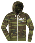 Icon 1000 Women's VERTIXAL Fleece Zip-Up Hoody Sweatshirt (Camo)