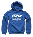 Thor MX Motocross Boys The Goods Pullover Hoody Sweatshirt (Royal Blue)