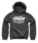 Thor MX Motocross Boys The Goods Pullover Hoody Sweatshirt (Charcoal)