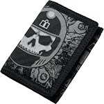 ICON Busted & Broken Wallet (Black)