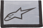 ALPINESTARS Solid Textile Tri-Fold Wallet (Gray)
