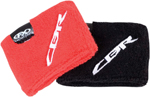 Factory Effex Official Licensed HONDA CBR Wristbands/Reservoir Socks (Black)