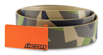 ICON Deployed Polyurethane Belt w/ Cast Aluminum Buckle (Camo)