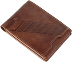 Icon Motosports ESSENTIAL Leather Wallet (Brown)