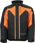 Arctiva 2020 PIVOT 3 Insulated Waterproof Jacket (Black/Orange)