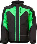 Arctiva 2020 PIVOT 3 Insulated Waterproof Jacket (Black/Green)