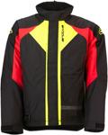 Arctiva 2020 PIVOT 3 Insulated Waterproof Jacket (Black/Red/Hi-Viz)
