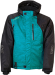 Arctiva 2020 LAT48 Insulated Waterproof Jacket (Black/Green)