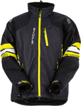 ARCTIVA Snow Snowmobile Men's 2017 MECH Insulated Jacket (Black/Yellow)
