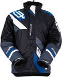 ARCTIVA Snow Snowmobile Men's 2017 COMP Insulated Jacket (Black/Blue)
