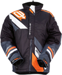 ARCTIVA Snow Snowmobile Men's 2017 COMP Insulated Jacket (Black/Orange)