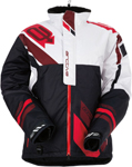 ARCTIVA Snow Snowmobile Men's 2017 COMP Insulated Jacket (Black/White/Red)