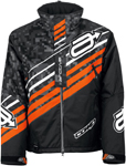 Arctiva Snow Snowmobile Men's 2018 COMP Insulated Jacket (Black/Orange)
