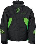 Arctiva Snow Snowmobile Men's 2018 PIVOT Insulated Jacket (Black/Green)