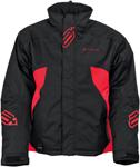Arctiva Snow Snowmobile Men's 2018 PIVOT Insulated Jacket (Black/Red)