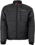 Arctiva Snow Snowmobile Men's Mech 3M Thinsulate Insulated Mid-Layer Jacket (Black)
