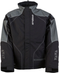 Arctiva Snow Snowmobile Men's PIVOT 2 Insulated Waterproof Jacket (Black/White)