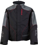 Arctiva Snow Snowmobile Men's PIVOT 2 Insulated Waterproof Jacket (Black/Red)