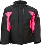Arctiva Women's 2020 PIVOT 3 Insulated Waterproof Jacket (Black/Pink)