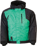 Arctiva Women's 2020 LAT48 Insulated Waterproof Jacket (Black/Mint)