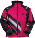 ARCTIVA Snow Snowmobile Women's 2017 ECLIPSE Insulated Jacket (Black/Pink)