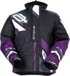 ARCTIVA Snow Snowmobile Women's 2017 COMP Insulated Jacket (Black/Purple)