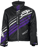 Arctiva Snow Snowmobile Women's 2018 COMP Insulated Jacket (Black/Purple)
