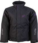 Arctiva Snow Snowmobile Women's PIVOT 2 Insulated Waterproof Jacket (Black/Purple)