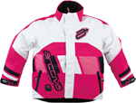 ARCTIVA Snow Snowmobile Kids 2017 COMP Insulated Jacket (Pink/White)