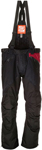 Arctiva 2020 LAT48 Insulated Waterproof Bibs/Pants (Black/Burgundy)