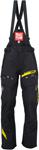 ARCTIVA Snow Snowmobile Men's 2017 VIBE Shell Bibs/Pants (Black)
