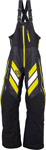 ARCTIVA Snow Snowmobile Men's 2017 MECH Insulated Bibs/Pants (Black/Yellow)