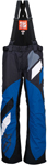 ARCTIVA Snow Snowmobile Men's 2017 COMP Insulated Bibs/Pants (Black/Blue)