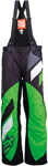 ARCTIVA Snow Snowmobile Men's 2017 COMP Insulated Bibs/Pants (Black/Green)