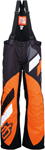 ARCTIVA Snow Snowmobile Men's 2017 COMP Insulated Bibs/Pants (Black/Orange)