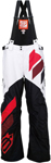 ARCTIVA Snow Snowmobile Men's 2017 COMP Insulated Bibs/Pants (Black/White/Red)