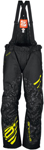 Arctiva Snow Snowmobile Men's 2018 COMP Insulated Bibs/Pants (Black/Hi-Viz)